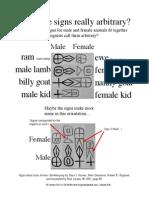 Male to Female Animals in Sumerian Cuneiform