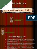 Guía de teatro