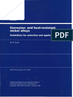 Corrosion And Heat Resistant Nickel Alloys