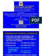 Sustainable Development of Indonesian Marine and Fisheries