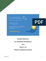 EU Codeweek Austria Projektbericht 2014