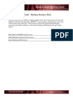 Stainless Steel Marking Guide