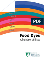Food Dyes - Rainbow of Risks