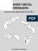 DIY Sheet Metal Derringers - Practical Scrap Metal Small Arms Vol.7