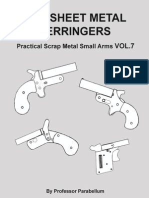 DIY Sheet Metal Derringers - Practical Scrap Metal Small