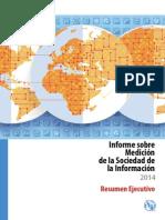 Informe sobre Medición de la Sociedad de la Información 2014