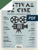 Festival de Cine - Film Festival