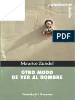 Otro Modo de Ver Al Hombre - Zundel, Maurice(Author)