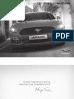 Der Neue Ford Mustang - Preisliste