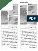Material Didatico Carta Do Leitor