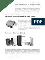 Componentes Internos de La Pc