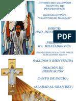 Culto 31-08-14