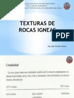 Texturas de Rocas Igneas