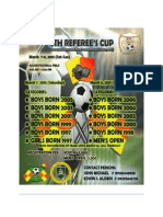 4th Referees Cup