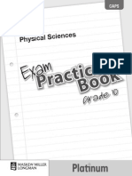 Platinum Physical Sciences Grade 10 Exam Practice Book