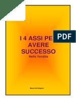 Max Formisano - I 4 Assi Per Avere Sucesso Nella Vendita