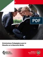 EBC FILOSOFIA PDF Orientaciones Filosofia
