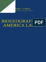 Biogeografia de America Latina