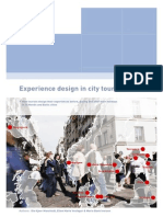 Experience Design in City Tourism