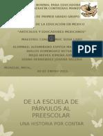 DE LA ESCUELA DE PÁRVULOS AL PREESCOLAR 3.pptx