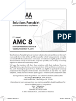 2011 AMC8 Solutions