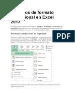 Ejemplos de Formato Condicional en Excel 2013