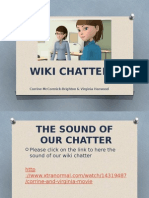 pecha kucha - the sounds of our wiki chatter final