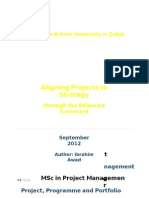 Ibrahim Awad - PPPM - Aligning Projects With Strategy Through Balanced Scorecard v5.0-Libre