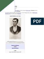 Andrés Bonifacio and His Life