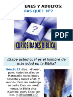 Curiosidadesd Biblicas