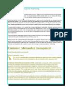 Customer Relationship Management97-03