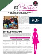 February Host Flyer CA