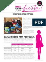 February Host Flyer Spanish