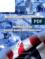 2012 Lockheed Martin MFC Application Summary