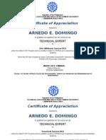 Certificate of Appreciation TEP (1)
