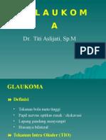 Glaucoma 20nov 08
