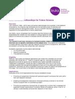 John Goldman Fellowships for Future Science  Information Web