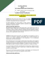 Analisis de Art. 26, 27, 34 y 39 Crbv. Clases Ciudadanía e Igualdad Real