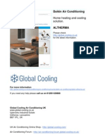 Daikin Altherma Air Conditioning Brochure 2008