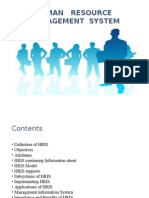 Human Resource Management System Ppt