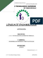 Antologia Ensamblador