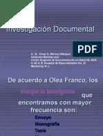 3 Investigación Documental