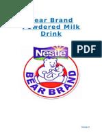 Consumer Plan- Bear Brand