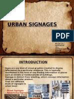 Urban Signages