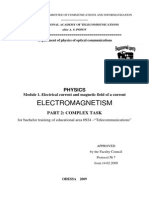 Electromagnetism. Module 1 - Electrical current an.pdf