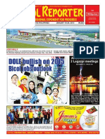 Bikol Reporter January 18 - 24 Issue
