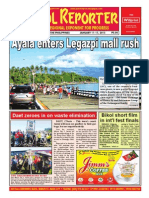 Bikol Reporter January 11 - 17 Issue