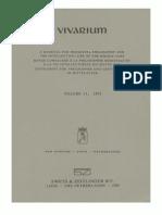 Vivarium, Vol. 11, 1973