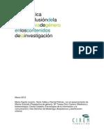 Guía práctica paralainclusióndela perspectivadegénero en los contenidos de la investigación