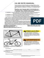 Manual Del Usuario de Bicicletas